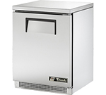 True TUC-24 6.5-cu ft Undercounter Refrigerator w/ (1) Section & (1) Door, 115v