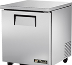 True TUC-27 6.5-cu ft Undercounter Refrigerator w/ (1) Section & (1) Door, 115v