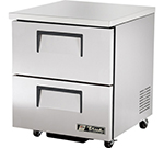 True TUC-27D-2-ADA 6.5-cu ft Undercounter Refrigerator w/ (1) Section & (2) Drawers, 115v