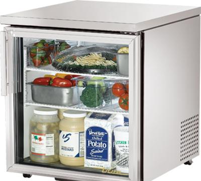 True TUC-27G-LP 6.5-cu ft Undercounter Refrigerator w/ (1) Section & (1) Door, 115v