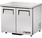 True TUC-36-ADA 8.5-cu ft Undercounter Refrigerator w/ (2) Sections & (2) Doors, 115v
