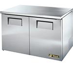 True TUC-48F-LP 12-cu ft Undercounter Freezer w/ (2) Sections & (2) Doors, 115v