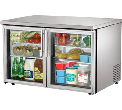 True TUC-48G-LP 12-cu ft Undercounter Refrigerator w/ (2) Sections & (2) Doors, 115v