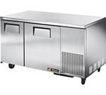 True TUC-60-32F 15.9-cut ft Undercounter Freezer w/ (2) Sections & (2) Doors, 115v