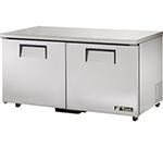 True TUC-60-ADA 15.5-cu ft Undercounter Refrigerator w/ (2) Sections & (2) Doors, 115v
