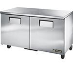 True TUC-60F 15.5-cu ft Undercounter Freezer w/ (2) Sections & (2) Doors, 115v