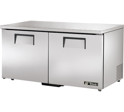 True TUC-60F-LP 15.5-cu ft Undercounter Freezer w/ (2) Sections & (2) Doors, 115v