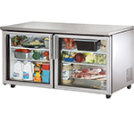 True TUC-60G-ADA 15-cu ft Undercounter Refrigerator w/ (2) Sections & (2) Doors, 115v