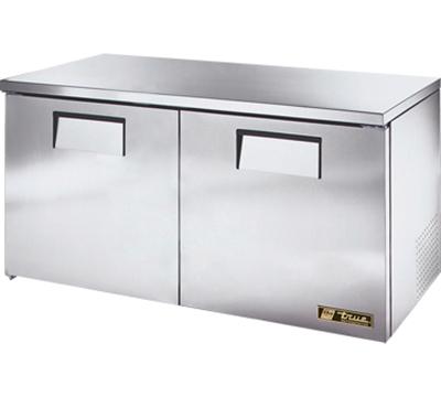 True TUC-60-LP 15.5-cu ft Undercounter Refrigerator w/ (2) Sections & (2) Doors, 115v