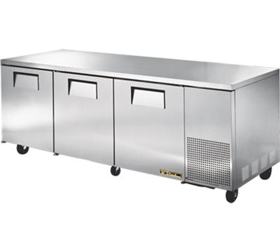 True TUC-93 30.9-cu ft Undercounter Refrigerator w/ (3) Sections & (3) Doors, 115v