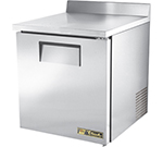 "True TWT-27-ADA 27.63"" Work Top Refrigerator w/ (1) Section, 115v"