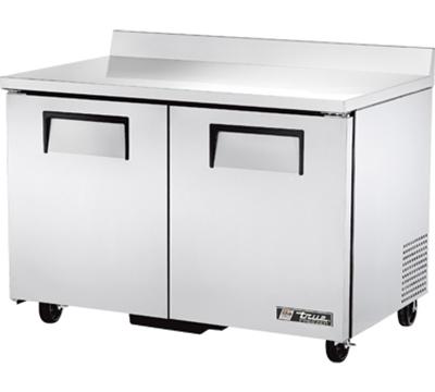 True TWT-48F 12-cu ft Undercounter Freezer w/ (2) Sections & (2) Doors, 115v