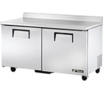 True TWT-60F 15.5-cu ft Undercounter Freezer w/ (2) Sections & (2) Doors, 115v