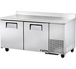 True TWT-67F 20.6-cu ft Undercounter Freezer w/ (2) Sections & (2) Doors, 115v