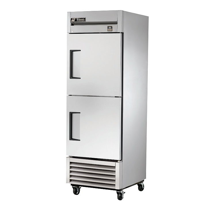 "True TS-23F-2 LH 27"" One Section Reach-In Freezer, (2) Solid Doors, 115v"