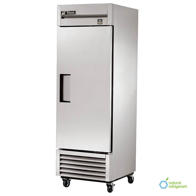 "True TS-23F LH 27"" One Section Reach-In Freezer, (1) Solid Door, 115v"