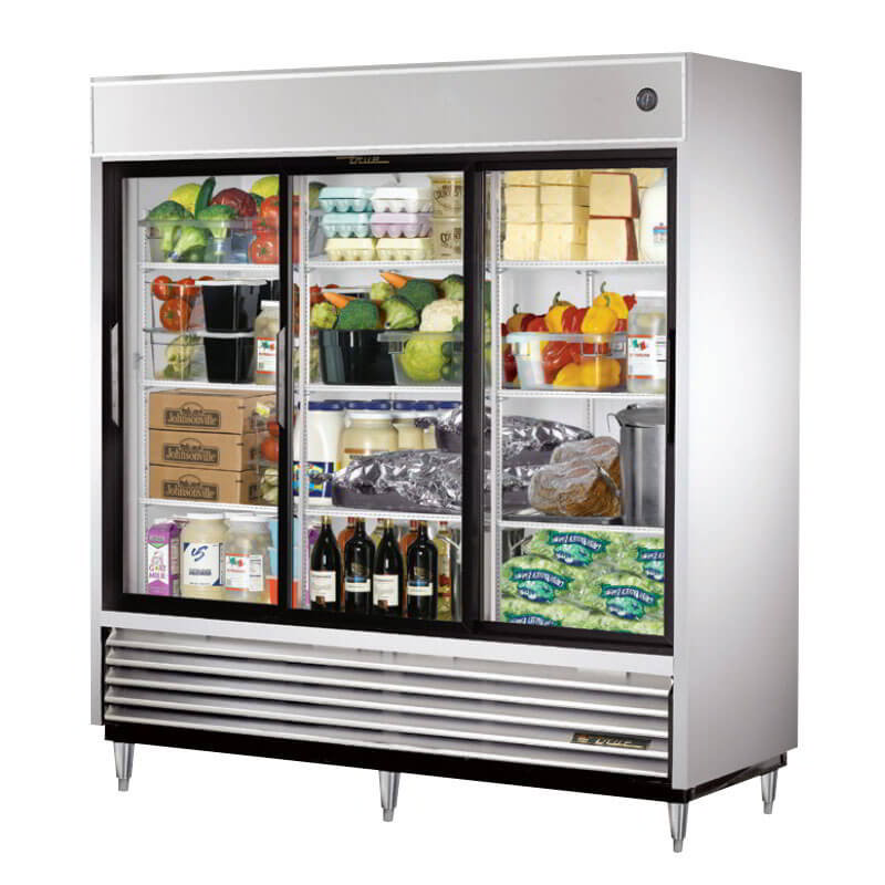True Tsd 69g Ld 78 Three Section Reach In Refrigerator