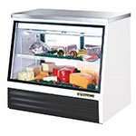 "True TSID-48-2-L 48"" Full Service Deli Case w/ Straight Glass - (2) Levels, 115v"