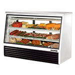 "True TSID-72-3 72"" Full Service Deli Case w/ Straight Glass - (3) Levels, 115v"