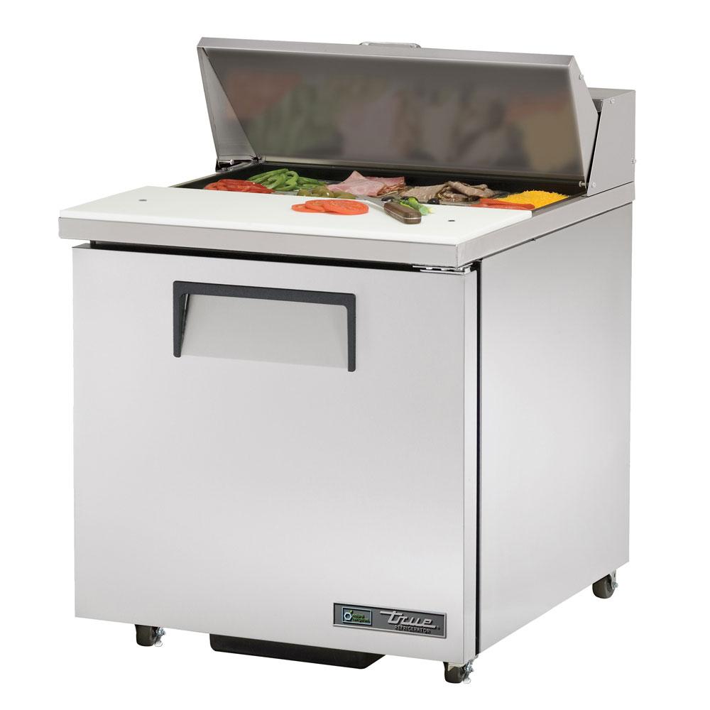 """True TSSU-27-08-ADA-HC LH 27.63"""" Sandwich/Salad Prep Table w/ Refrigerated Base, 115v"""