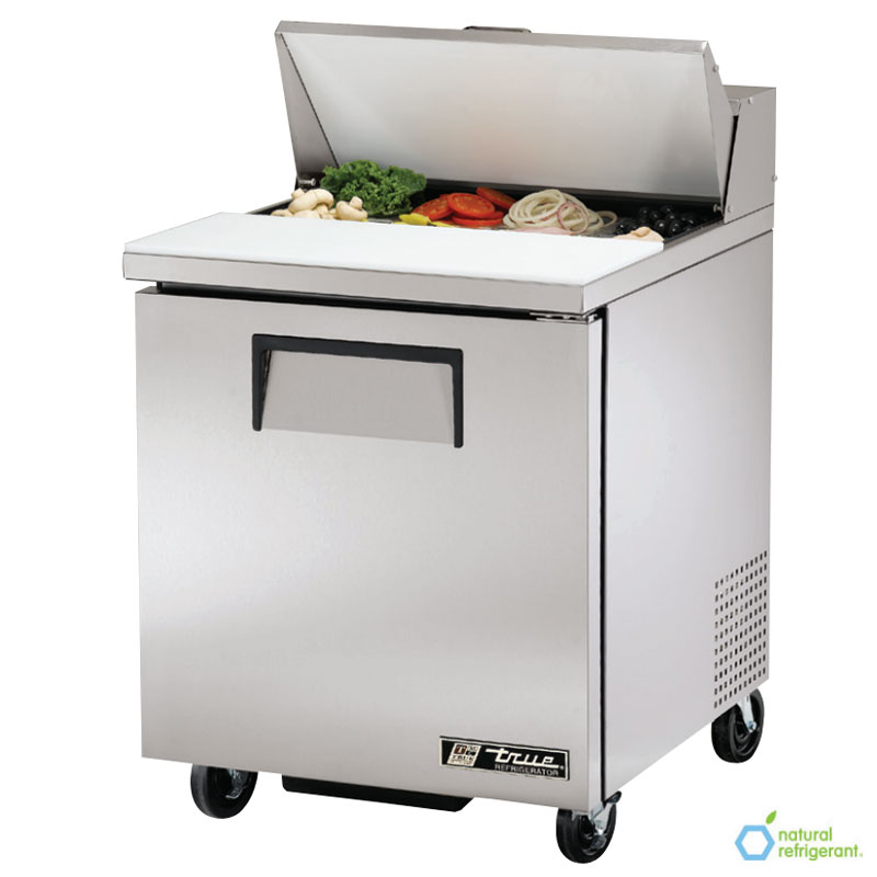 "True TSSU-27-8 27"" Sandwich/Salad Prep Table w/ Refrigerated Base, 115v"