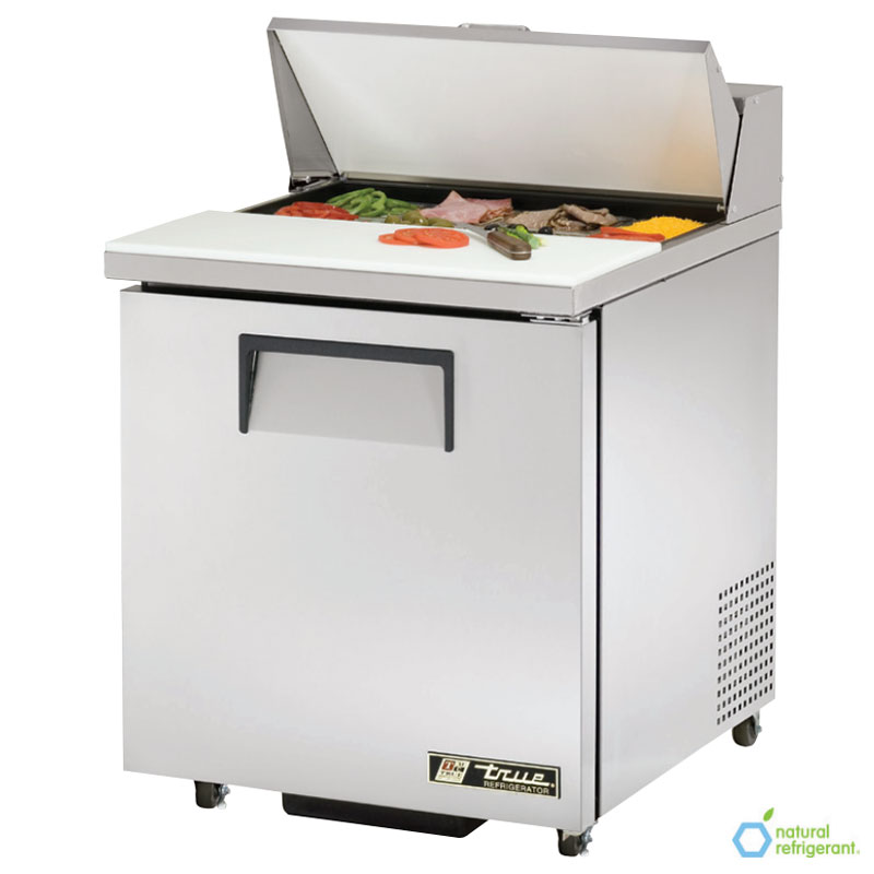 "True TSSU-27-8-ADA 27"" Sandwich/Salad Prep Table w/ Refrigerated Base, 115v"