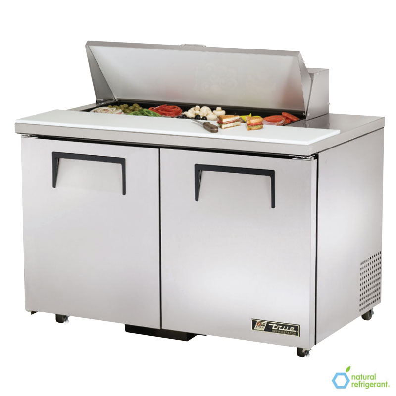 "True TSSU-48-10-ADA 48"" Sandwich/Salad Prep Table w/ Refrigerated Base, 115v"