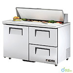 "True TSSU-48-12D-2-ADA-HC 48"" Sandwich/Salad Prep Table w/ Refrigerated Base, 115v"
