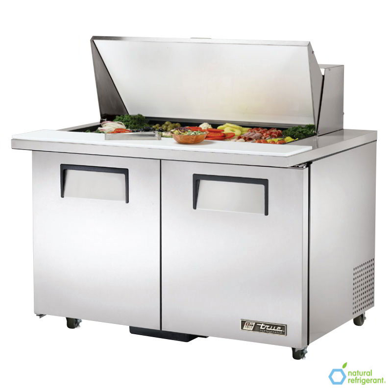 "True TSSU-48-18M-B-ADA 48"" Sandwich/Salad Prep Table w/ Refrigerated Base, 115v"