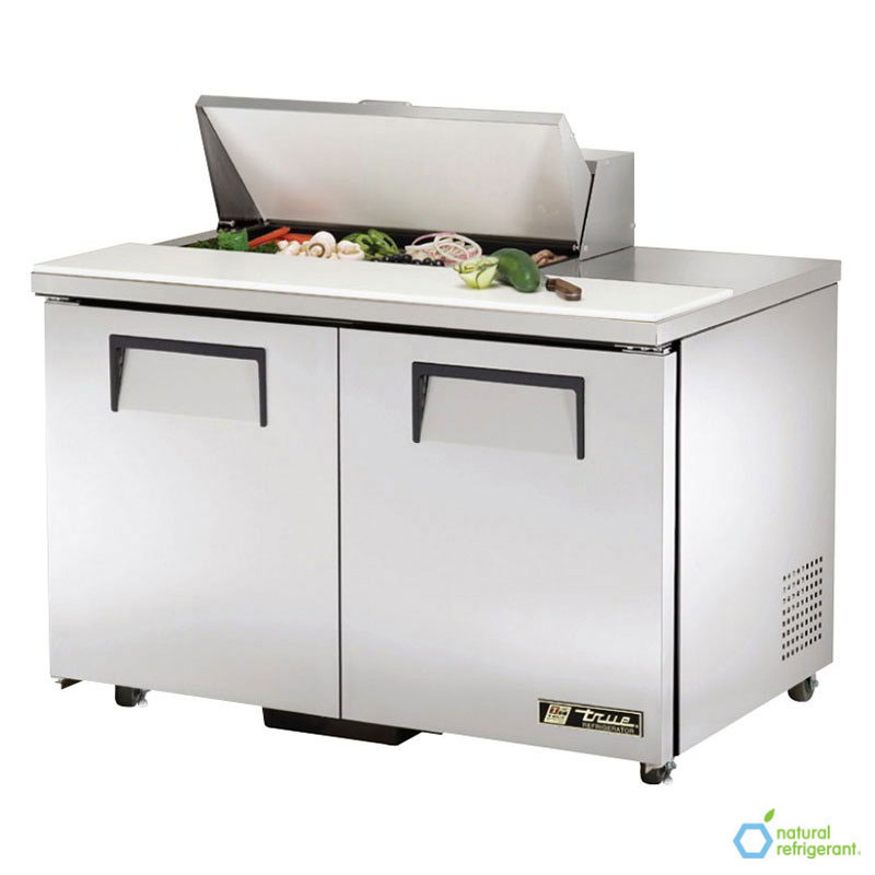 "True TSSU-48-08-ADA 48"" Sandwich/Salad Prep Table w/ Refrigerated Base, 115v"