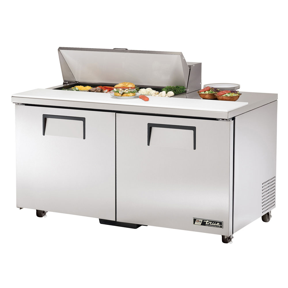 "True TSSU-60-10-ADA 60"" Sandwich/Salad Prep Table w/ Refrigerated Base, 115v"