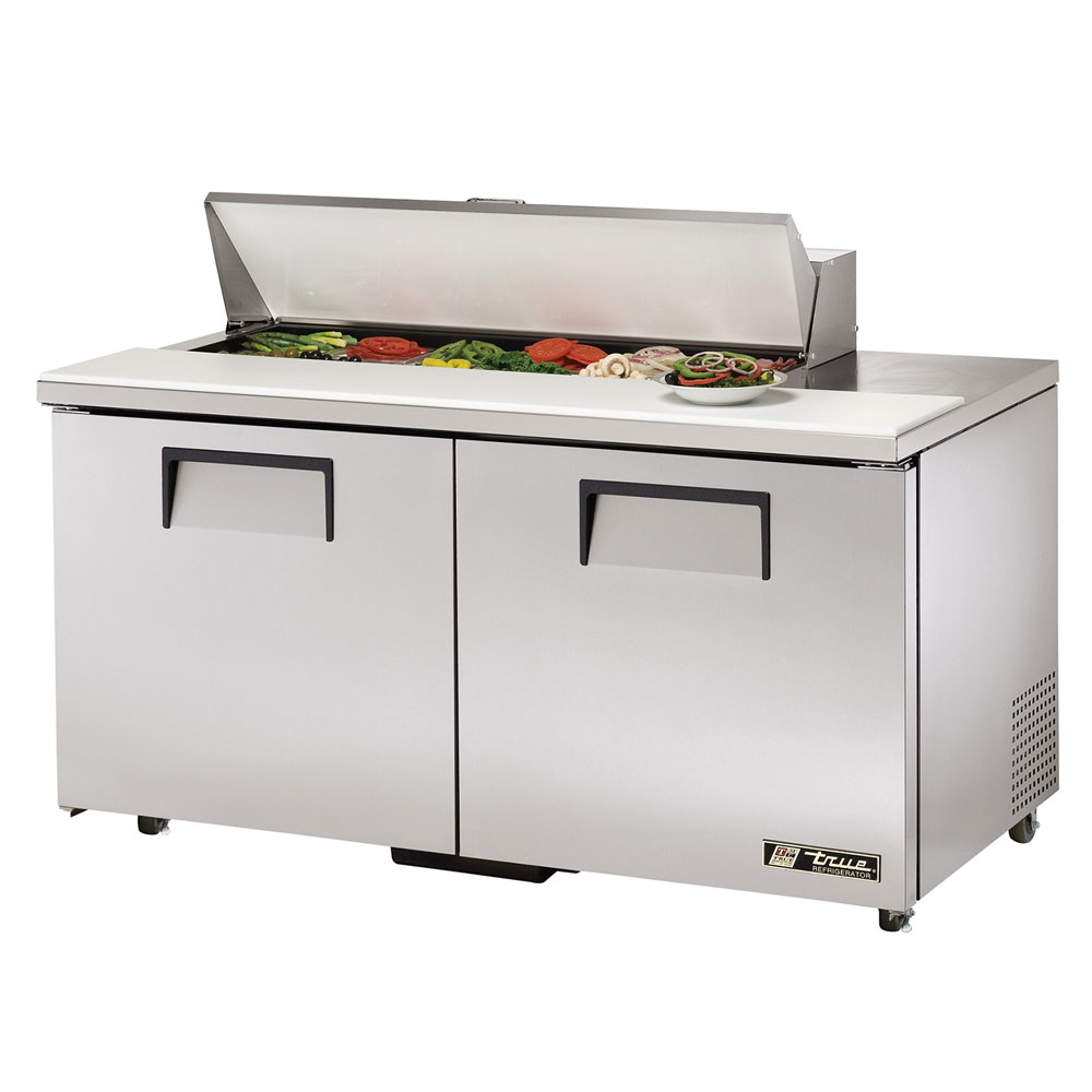 "True TSSU-60-12-ADA-HC 60"" Sandwich/Salad Prep Table w/ Refrigerated Base, 115v"