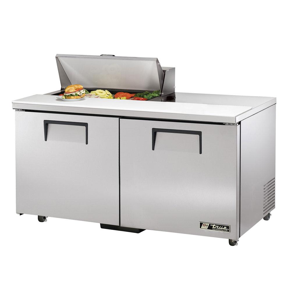 """True TSSU-60-08-ADA-HC 60.38"""" Sandwich/Salad Prep Table w/ Refrigerated Base, 115v"""