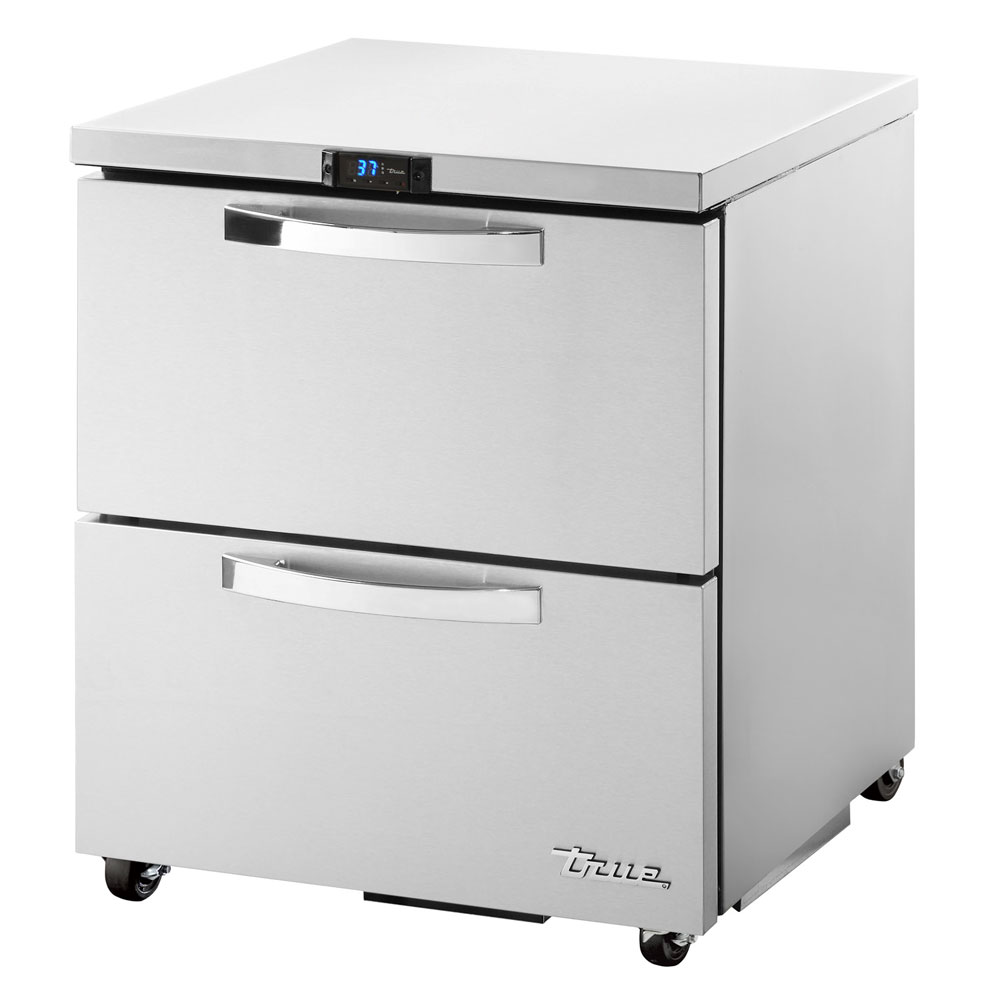 True TUC-27D-2-ADA-HC~SPEC1 6.5-cu ft Undercounter Refrigerator w/ (1) Section & (2) Drawers, 115v