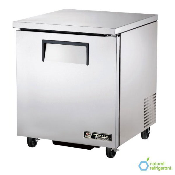 True TUC-27F LH 6.5-cu ft Undercounter Freezer w/ (1) Section & (1) Door, 115v