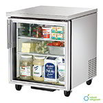 True TUC-27G-HC-LD 6.5-cu ft Undercounter Refrigerator w/ (1) Section & (1) Door, 115v