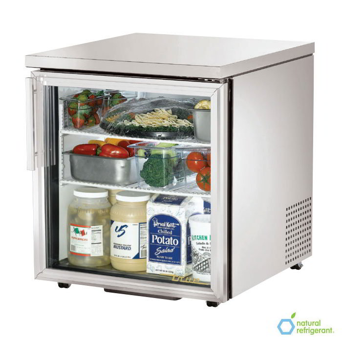 True TUC-27G-LP-HC-LD 6.5-cu ft Undercounter Refrigerator w/ (1) Section & (1) Door, 115v