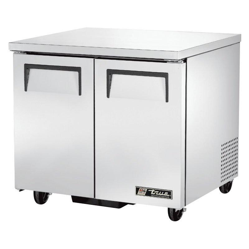 True TUC-36 8.5-cu ft Undercounter Refrigerator w/ (2) Sections & (2) Doors, 115v
