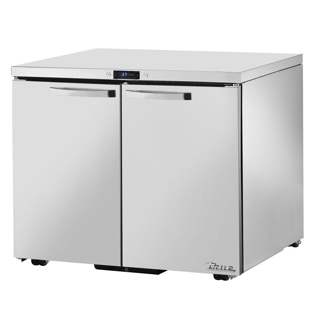 True TUC-36-LP~SPEC1 8.5-cu ft Undercounter Refrigerator w/ (2) Sections & (2) Doors, 115v