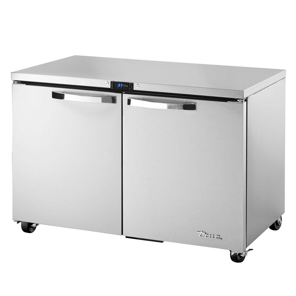 True TUC-48-ADA-HC~SPEC1 12-cu ft Undercounter Refrigerator w/ (2) Sections & (2) Doors, 115v