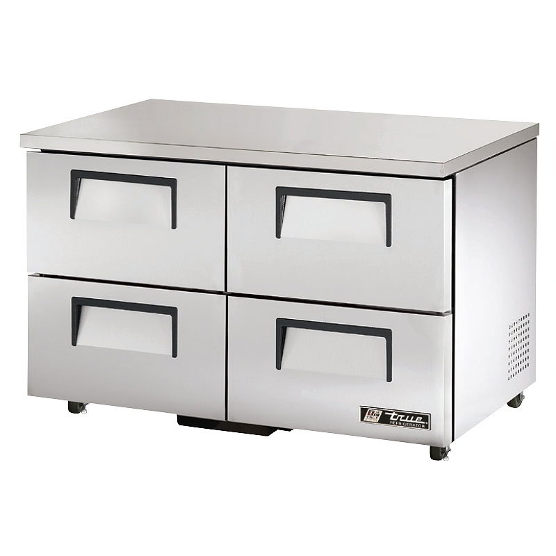 True TUC-48D-4-ADA-HC 12-cu ft Undercounter Refrigerator w/ (2) Sections & (4) Drawers, 115v