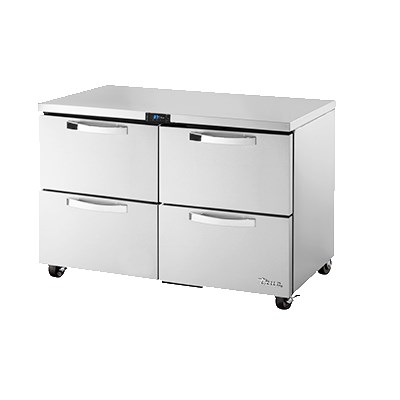 True TUC-48D-4-ADA-HC~SPEC1 12-cu ft Undercounter Refrigerator w/ (2) Sections & (4) Drawers, 115v