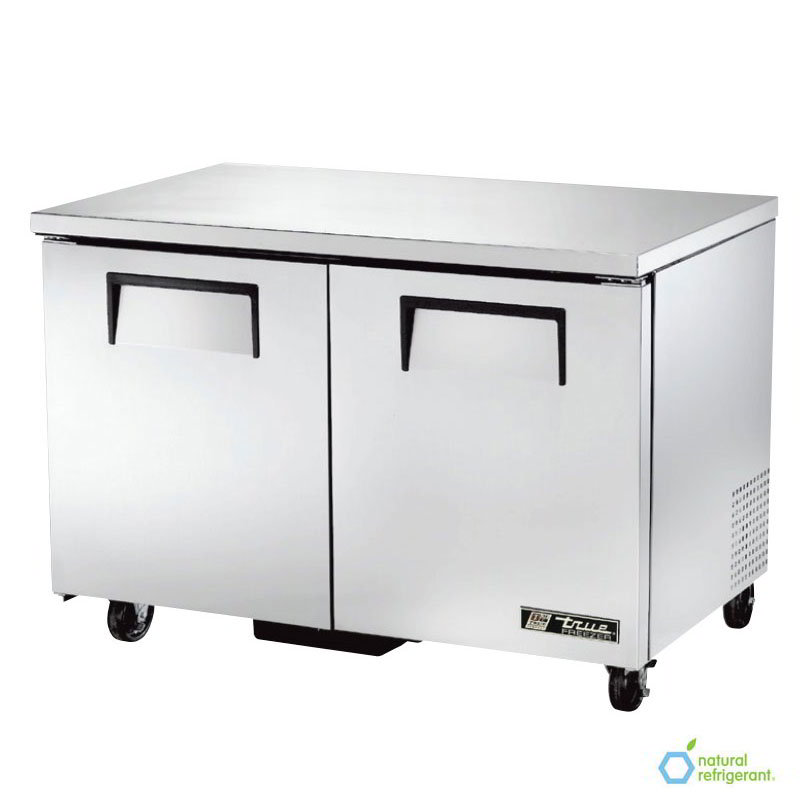 True TUC-48F 12-cu ft Undercounter Freezer w/ (2) Sections & (2) Doors, 115v