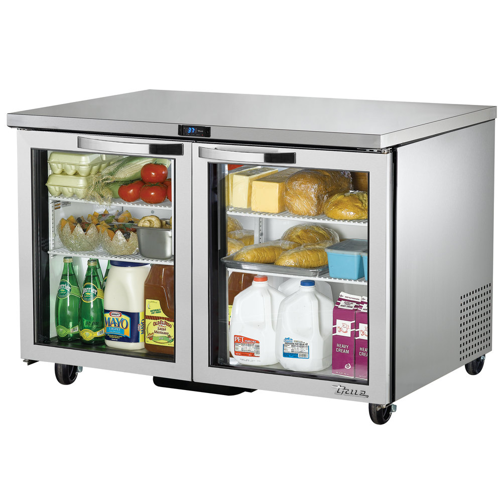 True TUC-48G-ADA-HC-LD~SPEC1 12-cu ft Undercounter Refrigerator w/ (2) Sections & (2) Doors, 115v