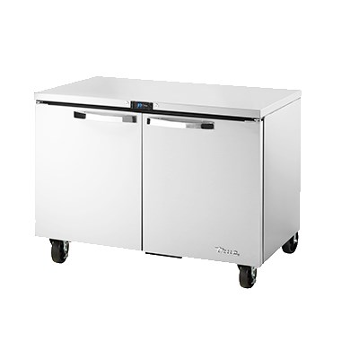 True TUC-48-HC~SPEC1 12-cu ft Undercounter Refrigerator w/ (2) Sections & (2) Doors, 115v
