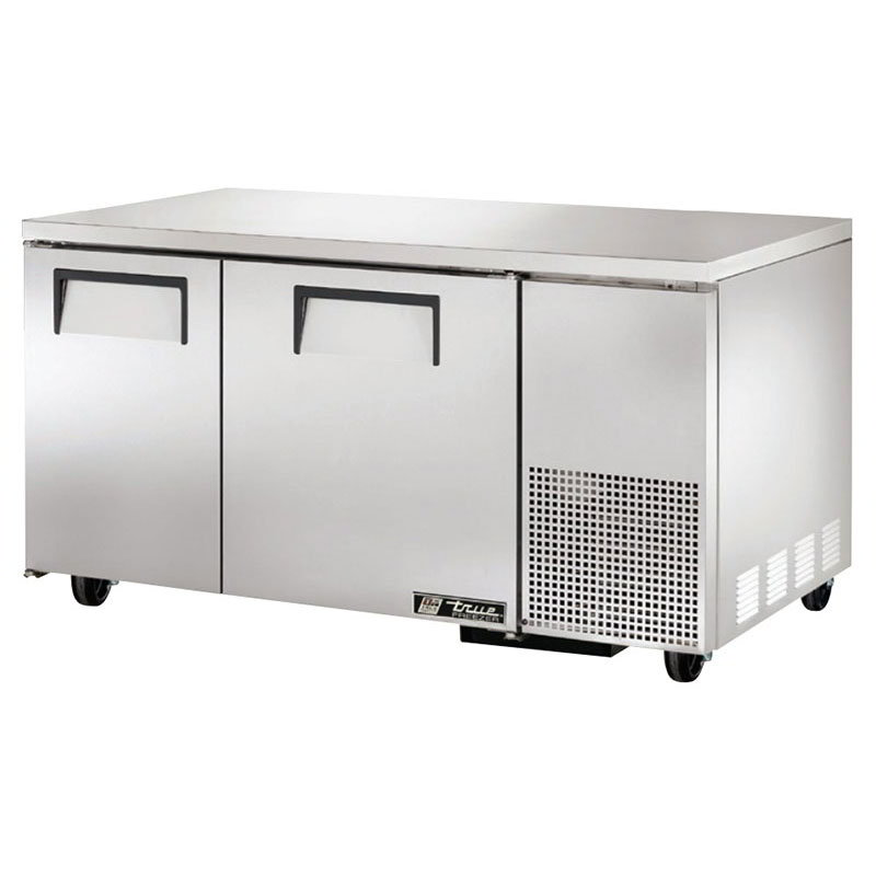True TUC-60-32F 15.9-cut ft Undercounter Freezer w/ (2) Sections & (2) Doors, 115v