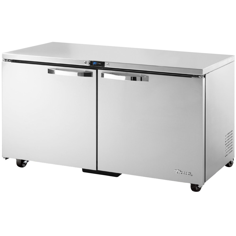 True TUC-60-ADA~SPEC1 15.5-cu ft Undercounter Refrigerator w/ (2) Sections & (2) Doors, 115v