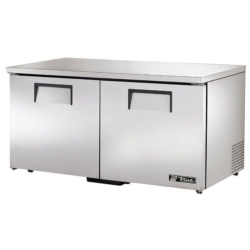 True TUC-60F-LP-HC 15.5-cu ft Undercounter Freezer w/ (2) Sections & (2) Doors, 115v