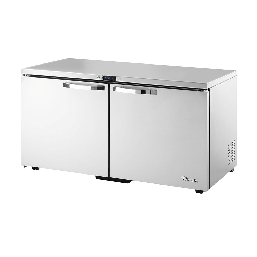 True TUC-60F-LP~SPEC1 15.5-cu ft Undercounter Freezer w/ (2) Sections & (2) Doors, 115v