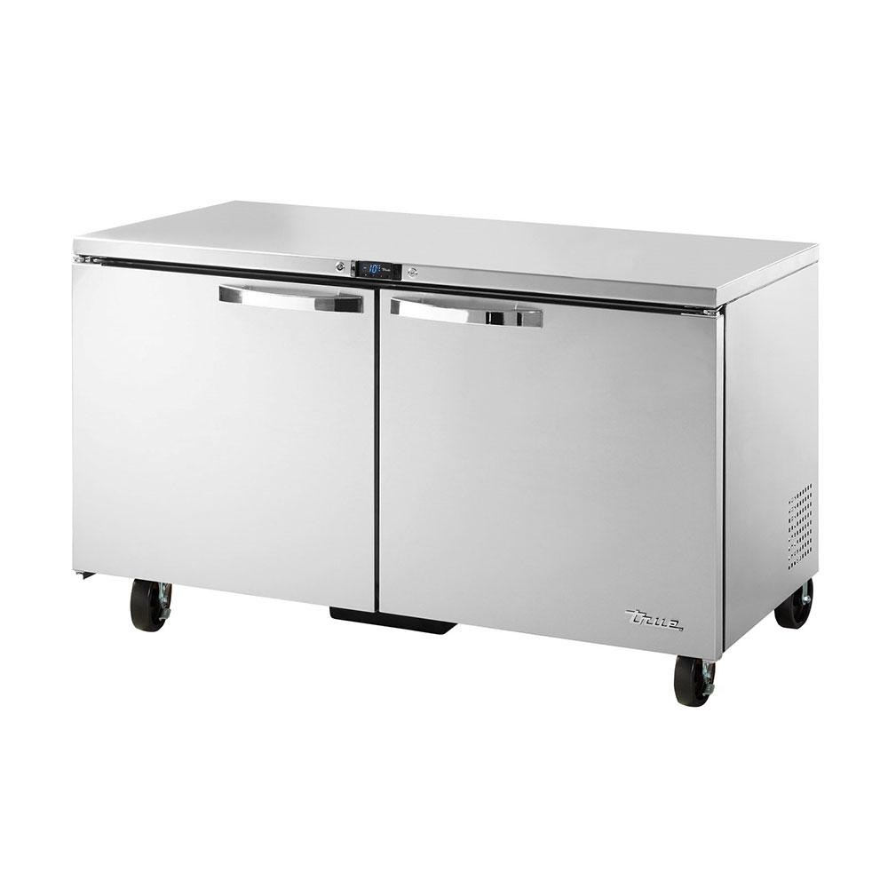 True TUC-60F-HC~SPEC1 15.5-cu ft Undercounter Freezer w/ (2) Sections & (2) Doors, 115v